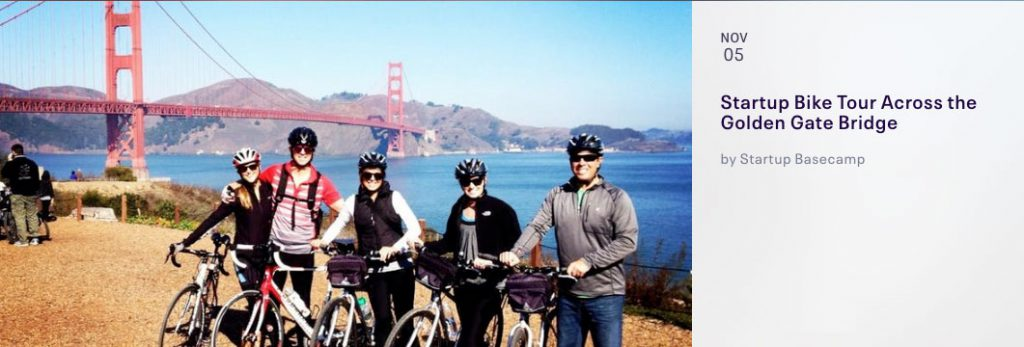 tartup Bike Tour Across the Golden Gate Bridge