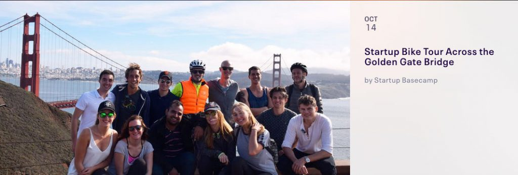 Startup Bike Tour Across the Golden Gate Bridge